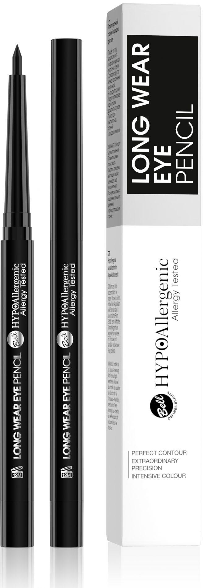 HYPOAllergenic Long Wear Eye Pencil 01 Black