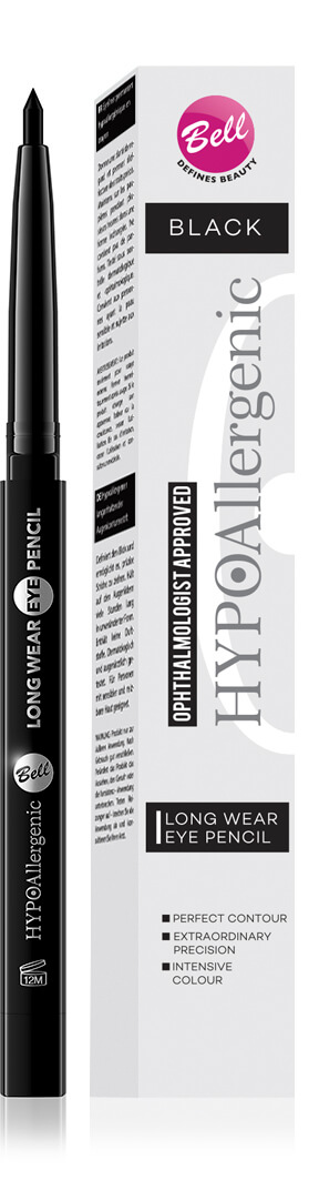 HYPOAllergenic Long Wear Eye Pencil 01 Black