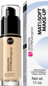 HYPOAllergenic Mat&Soft Make-up 01 Light Beige