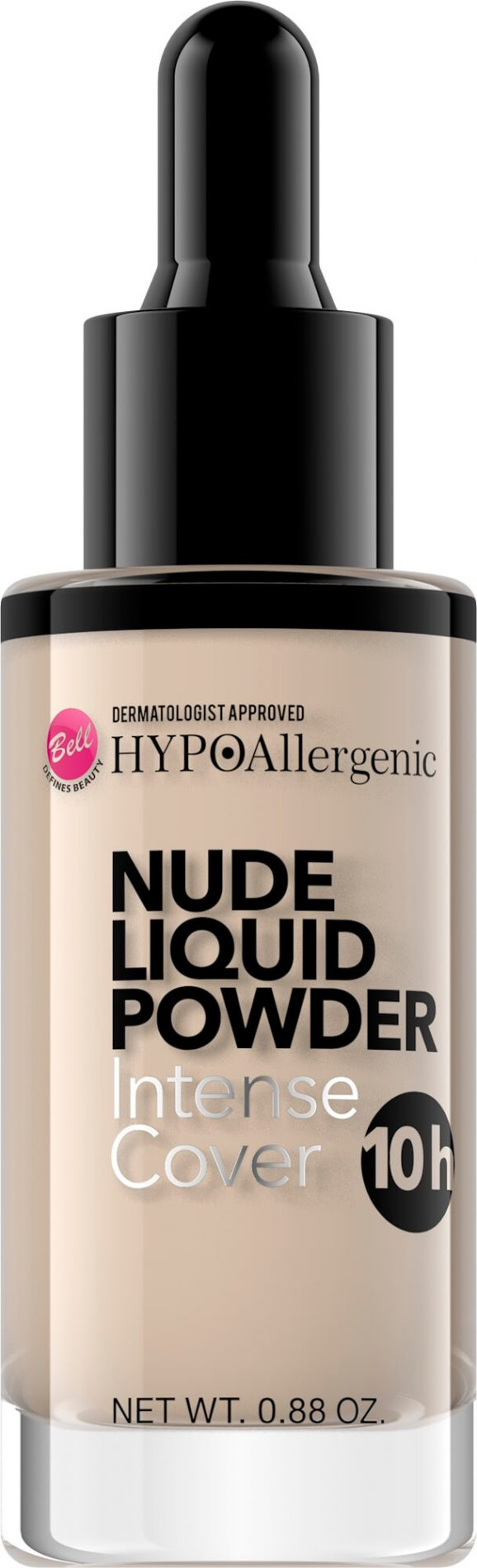 HYPOAllergenic Nude Liquid Powder 02 Light Beige