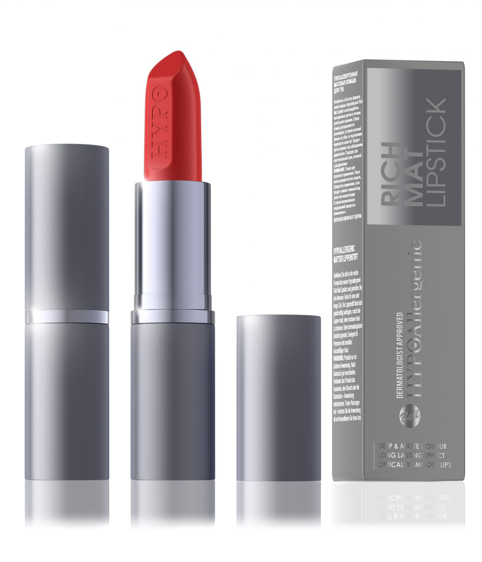 HYPOAllergenic Rich Mat Lipstick 06 Red Carpet