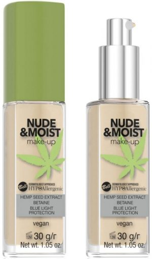 HYPOAllergenic Nude&Moist Make-up 04 Natural Tan